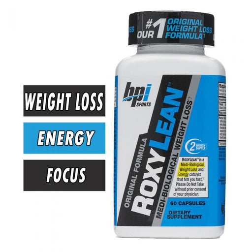 BPI ROXYLEAN Capsules - BBE: 02/20 - 60 caps - Supplement Dealz