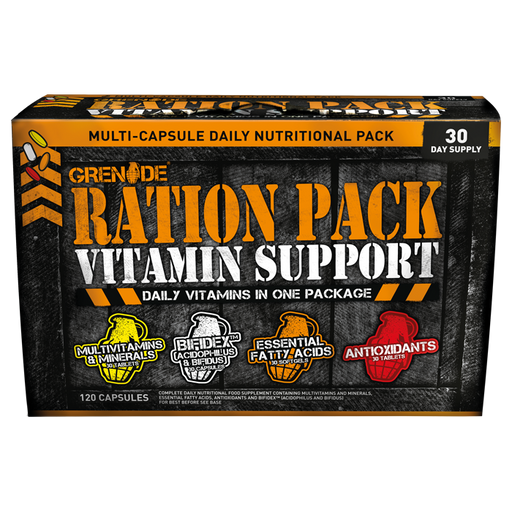 Grenade Ration Pack - 30 Daily Packs - Supplement Dealz