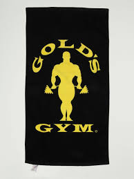 Golds Gym Golds Gym Towel (Black and Yellow) - Supplement Dealz