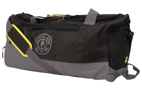 Golds Gym Golds Gym Travel Bag (Contrast, Black and Grey) - Supplement Dealz