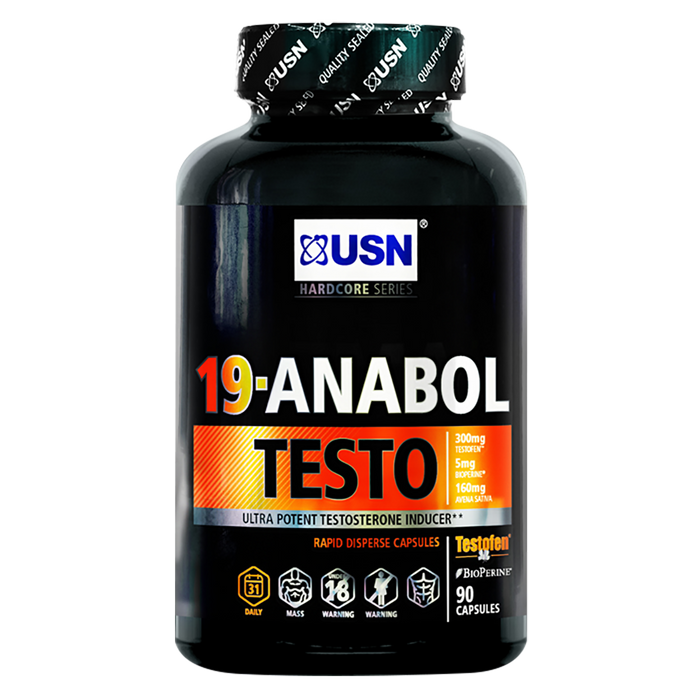USN 19-Anabol Testo 45 Caps - Supplement Dealz
