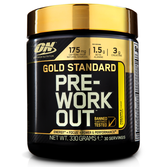 Optimum Nutrition Gold Standard Pre-Workout 330g - Supplement Dealz