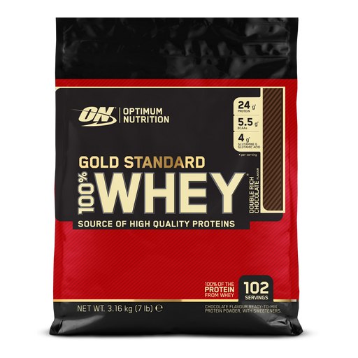 Optimum Nutrition Gold Standard 100% Whey 3.16kg - Supplement Dealz