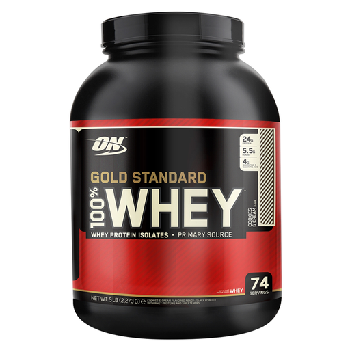 Optimum Nutrition Gold Standard 100% Whey 2.27Kg - Supplement Dealz