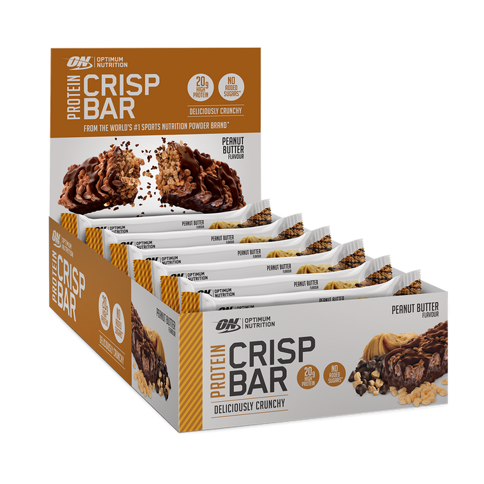 Optimum Nutrition Protein Crisp Bar 10x65g - Supplement Dealz