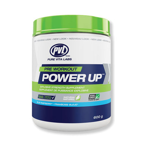 PVL SPORTS POWER UP - Blue Raspberry - Supplement Dealz