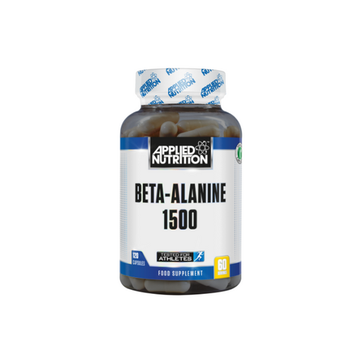 APPLIED NUTRITION Beta-Alanine 1500mg (120 Caps) - Supplement Dealz