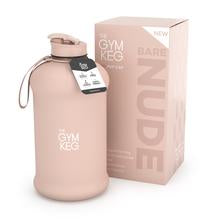 THE GYM KEG WATER BOTTLE 2200ML (2200ml / Bare Nude) - Supplement Dealz