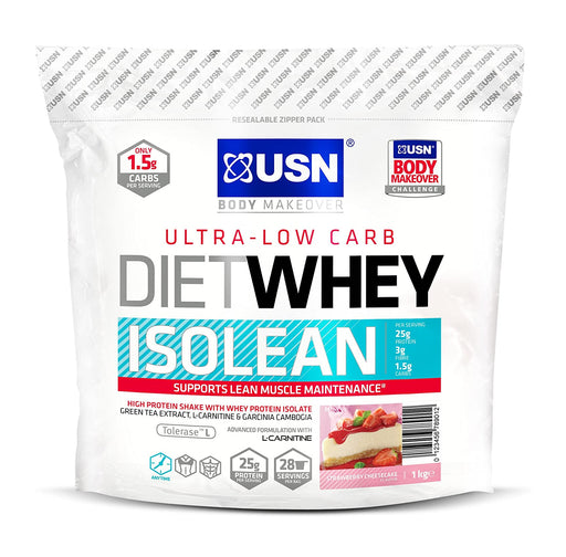 USN Diet Whey Isolean 1KG - Supplement Dealz
