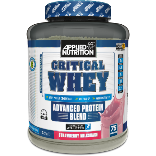 Applied Nutrition Critical Whey 2.27kg - Supplement Dealz