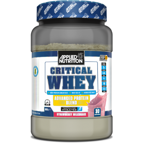 Applied Nutrition Critical Whey 900g (30 Servings) - Supplement Dealz