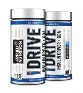 APPLIED NUTRITION iDRIVE Insulin Driver & GDA (120 Caps) - Supplement Dealz