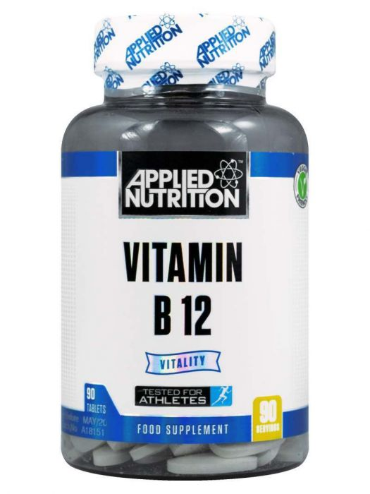 APPLIED NUTRITION Vitamin B12 (90 Tabs) - Supplement Dealz