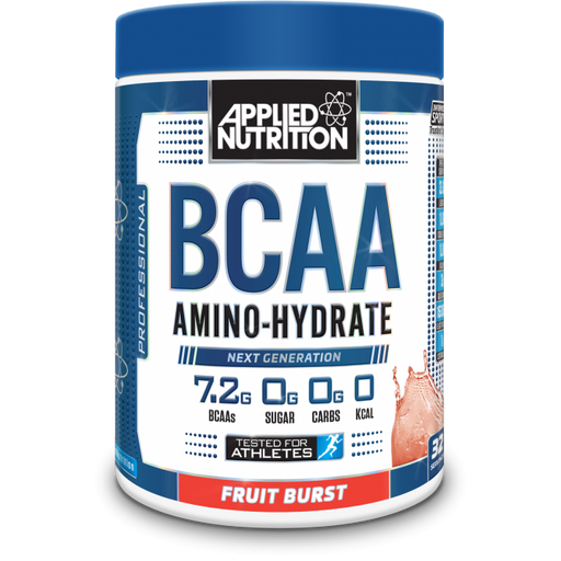 APPLIED NUTRION BCAA 450g Amino Hydrate Sugar - Supplement Dealz
