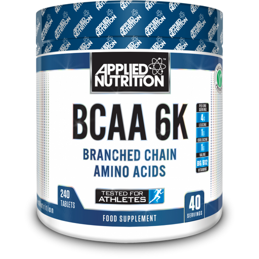 APPLIED NUTRITION BCAA 6K 4:1:1 (240 Tabs) - Supplement Dealz