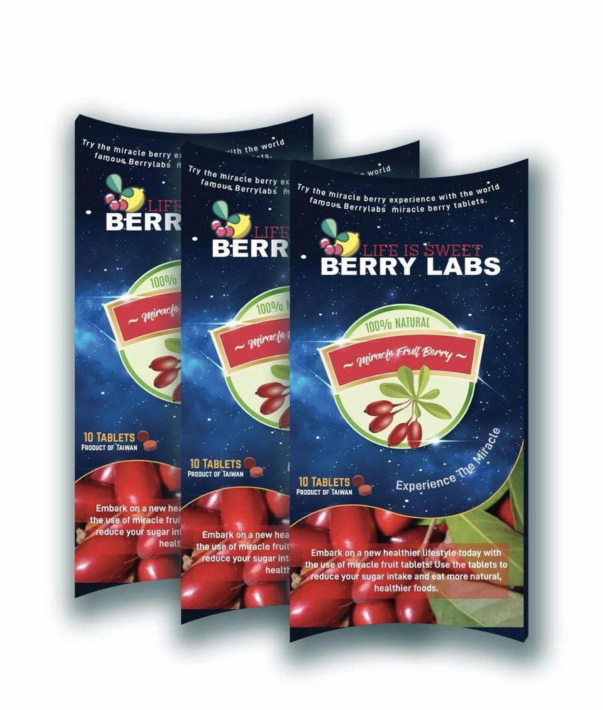 Miracle Fruit Berry Tablets - Berry labs - Supplement Dealz