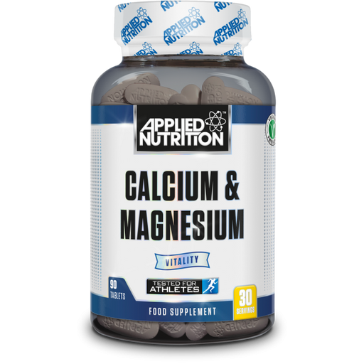 APPLIED NUTRITION Calcium & Magnesium (90 Tabs) - Supplement Dealz