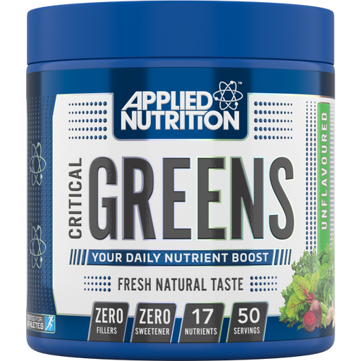 APPLIED NUTRITON CRITICAL GREENS 250G - Supplement Dealz