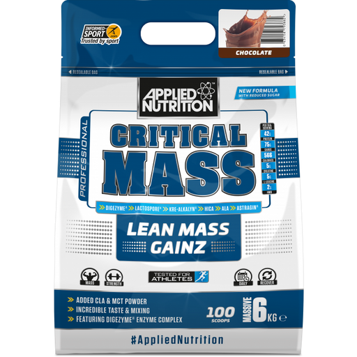 APPLIED NUTRTION Critical Mass 6kg Bag - Supplement Dealz