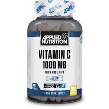 APPLIED NUTRITION Vitamin C with Rose Hips (100 Tabs) - Supplement Dealz