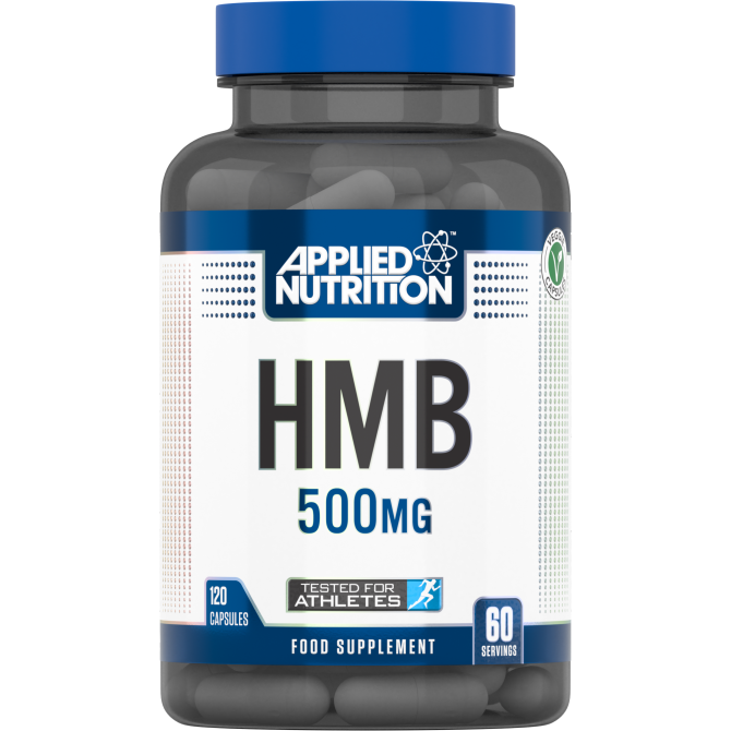 APPLIED NUTRITION HMB 500mg - 120 caps - Supplement Dealz