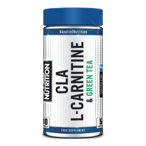 APPLIED NUTRITION CLA, L-Carnitine & Green Tea (100 Gels)