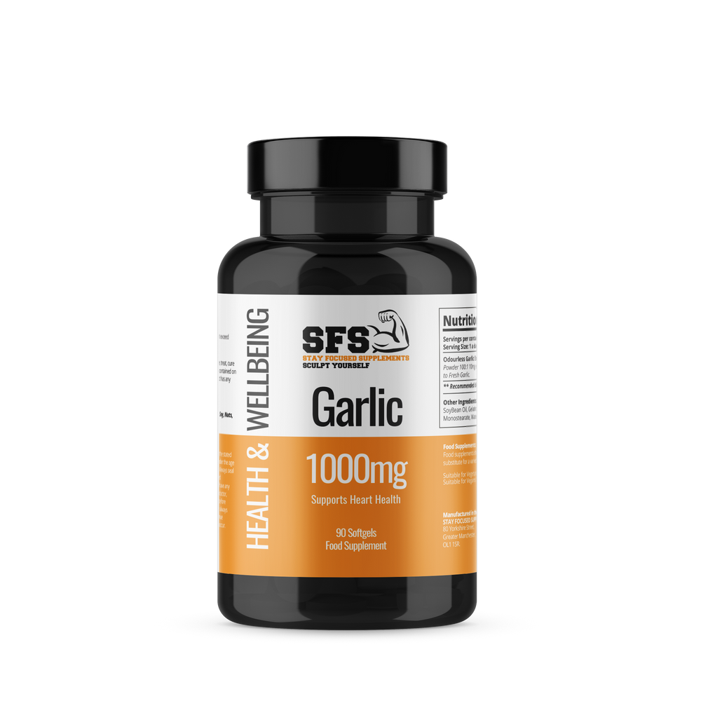 Garlic 1000mg Softgel Capsules - Supplement Dealz