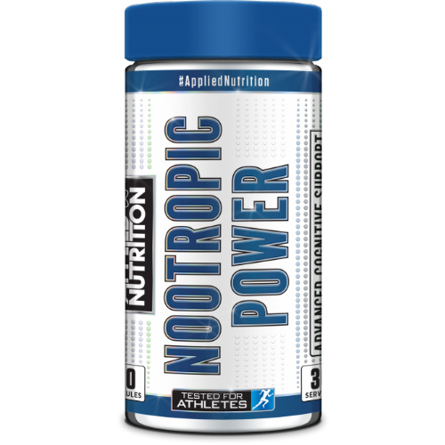 Applied Nutriton Nootropic Power 60 Capsules | 50g | 30 Servings