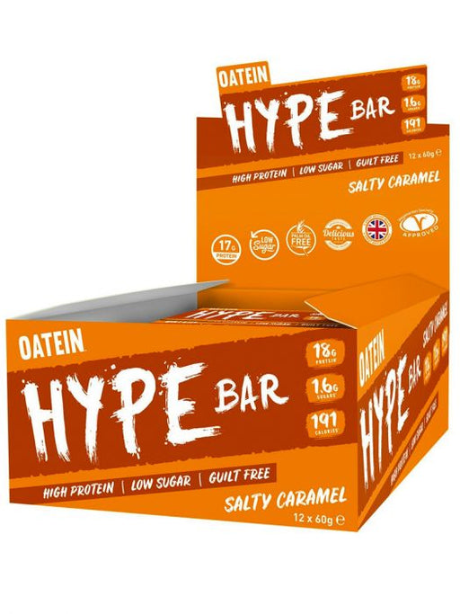 Oatein HYPE Bar 12x60g - Supplement Dealz