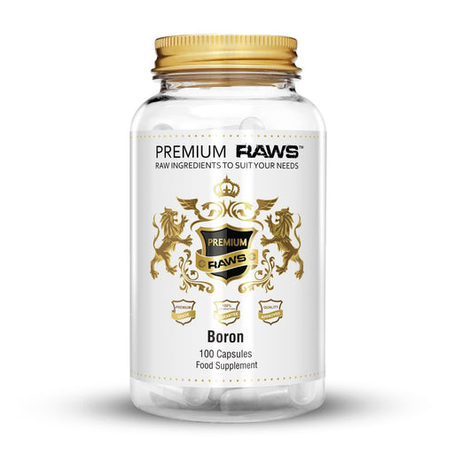 Premium Raws Boron (100 Capsules) - Supplement Dealz