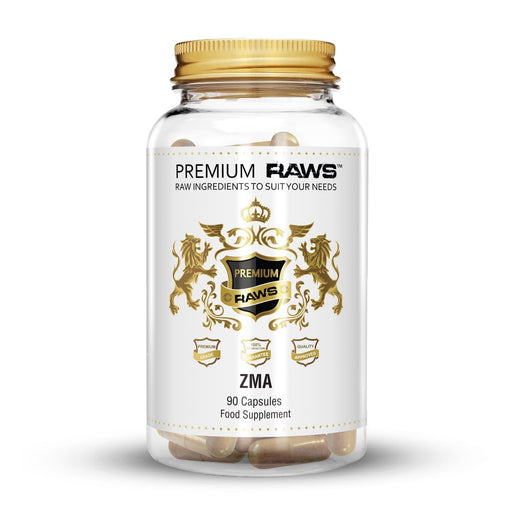 Premium Raws ZMA (90 Capsules) - Supplement Dealz