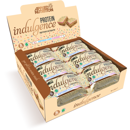 Applied Nutrition Vegan  Protein Indulgence Box 12 x 50g Bars
