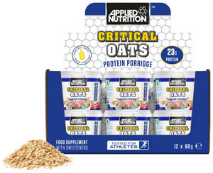 APPLIED NUTRITION Critical Oats (60g) - Supplement Dealz