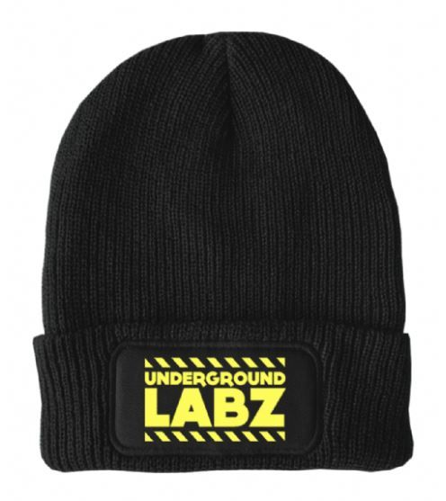 UNDERGROUND LABZ BEANIE HAT - Supplement Dealz