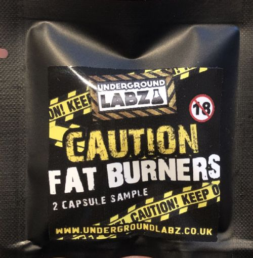 UNDERGROUND LABZ Caution Fat Burner SAMPLE (2 Capsules)