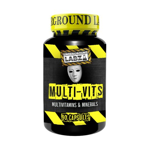 UNDERGROUND LABZ Multi-Vits (90 Capsules) - Supplement Dealz
