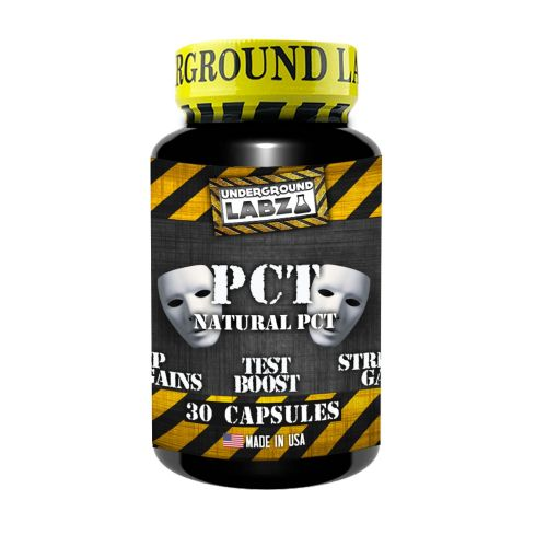 UNDERGROUND LABZ Natural PCT (30  Capsules) - Supplement Dealz