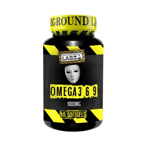 UNDERGROUND LABZ Omega 369 (90 Softgels) - Supplement Dealz