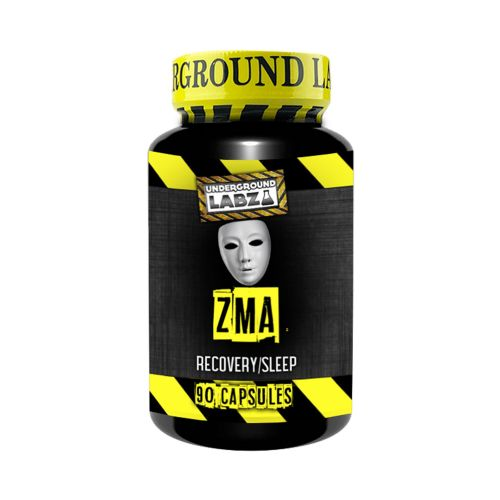 UNDERGROUND LABZ ZMA Recovery & Sleep (90 Capsules) - Supplement Dealz