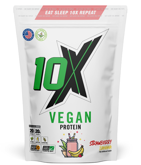 10X Athletic - Vegan Protein - 540g - Supplement Dealz