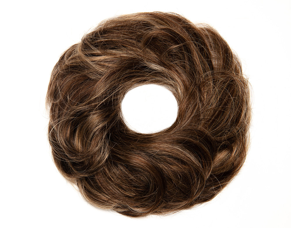 Brown Blonde Ombre Scrunchie STYLD by Ken Paves