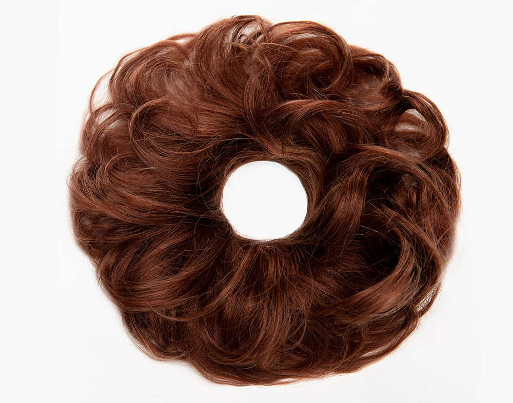 Dark Umber Red Scrunchie STYLD by Ken Paves