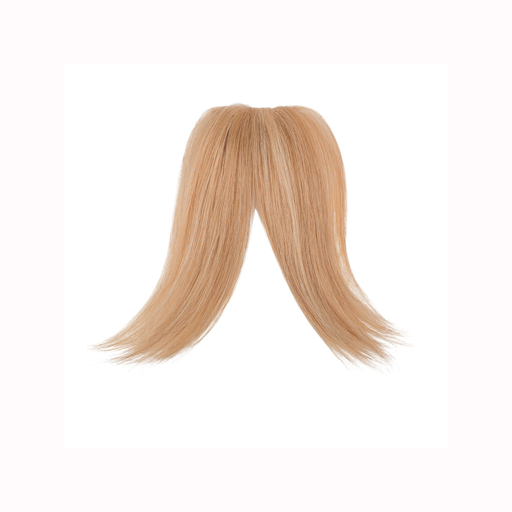 Gringe 1 piece bangs clip-ons golden wheat
