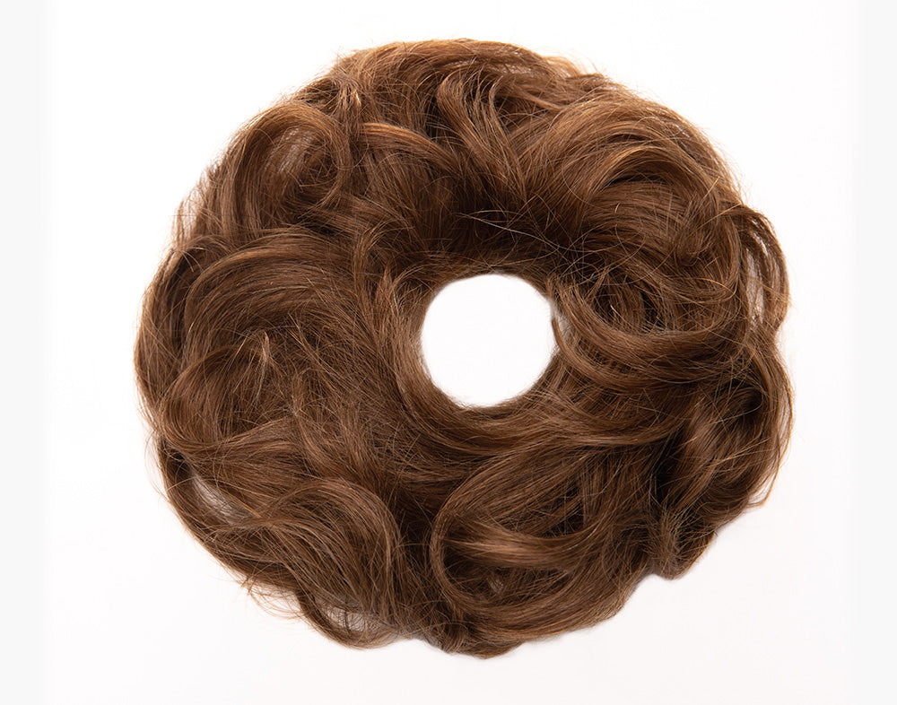 Honey Brown Scrunchie STYLD by Ken Paves