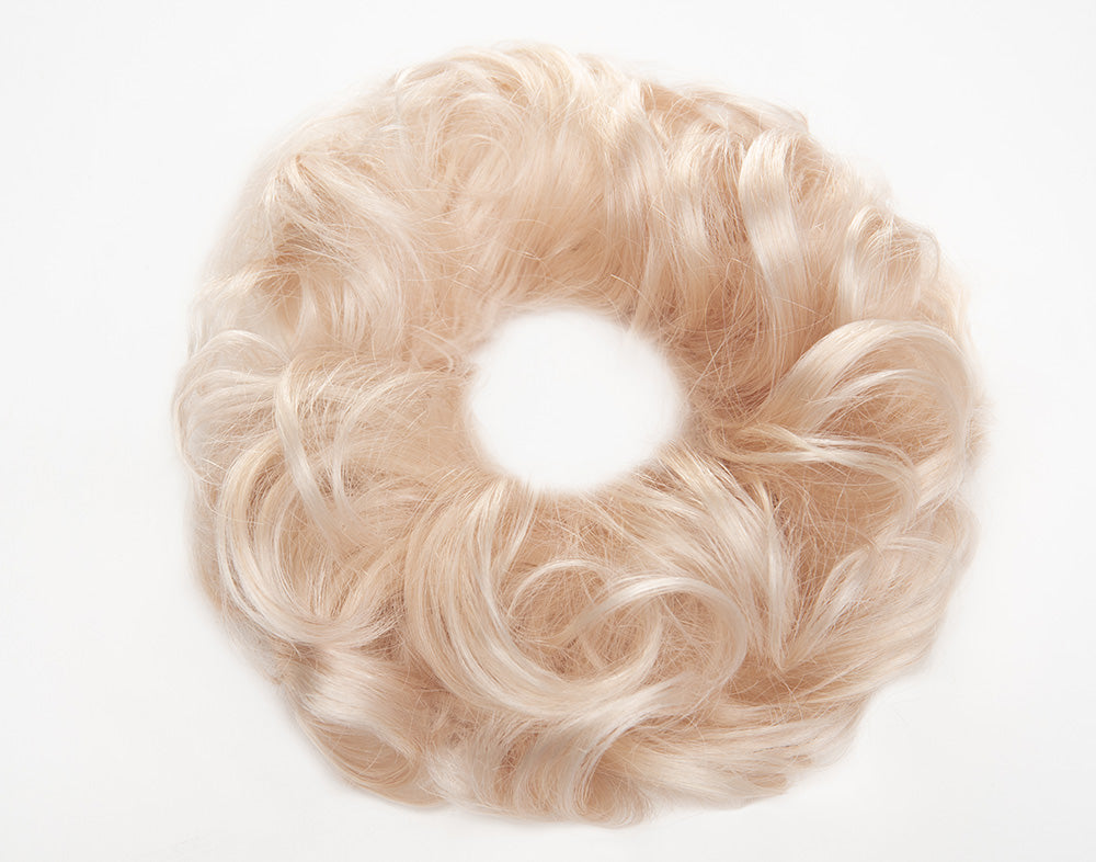 Palest Blonde Scrunchie STYLD by Ken Paves