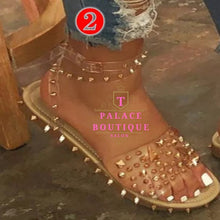 Load image into Gallery viewer, Studded Sandals