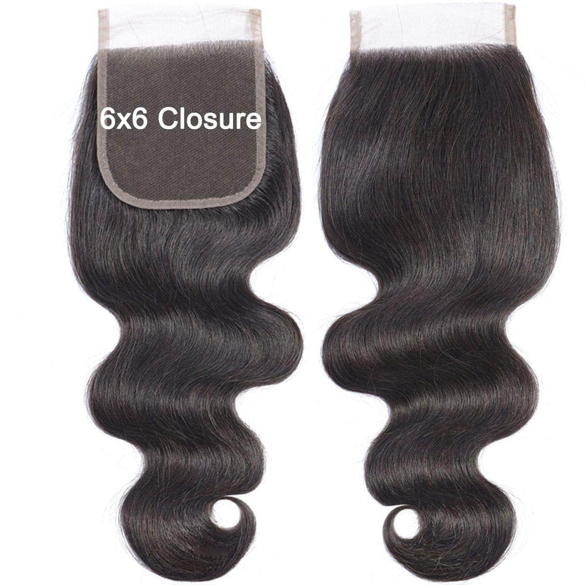 Body Wave 6x6 Closures
