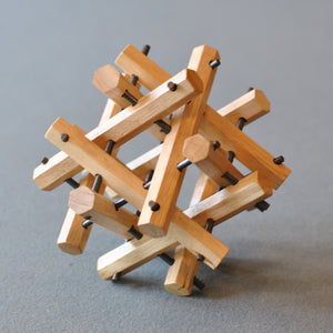 Clinton Wood and Metal Assembly Puzzle