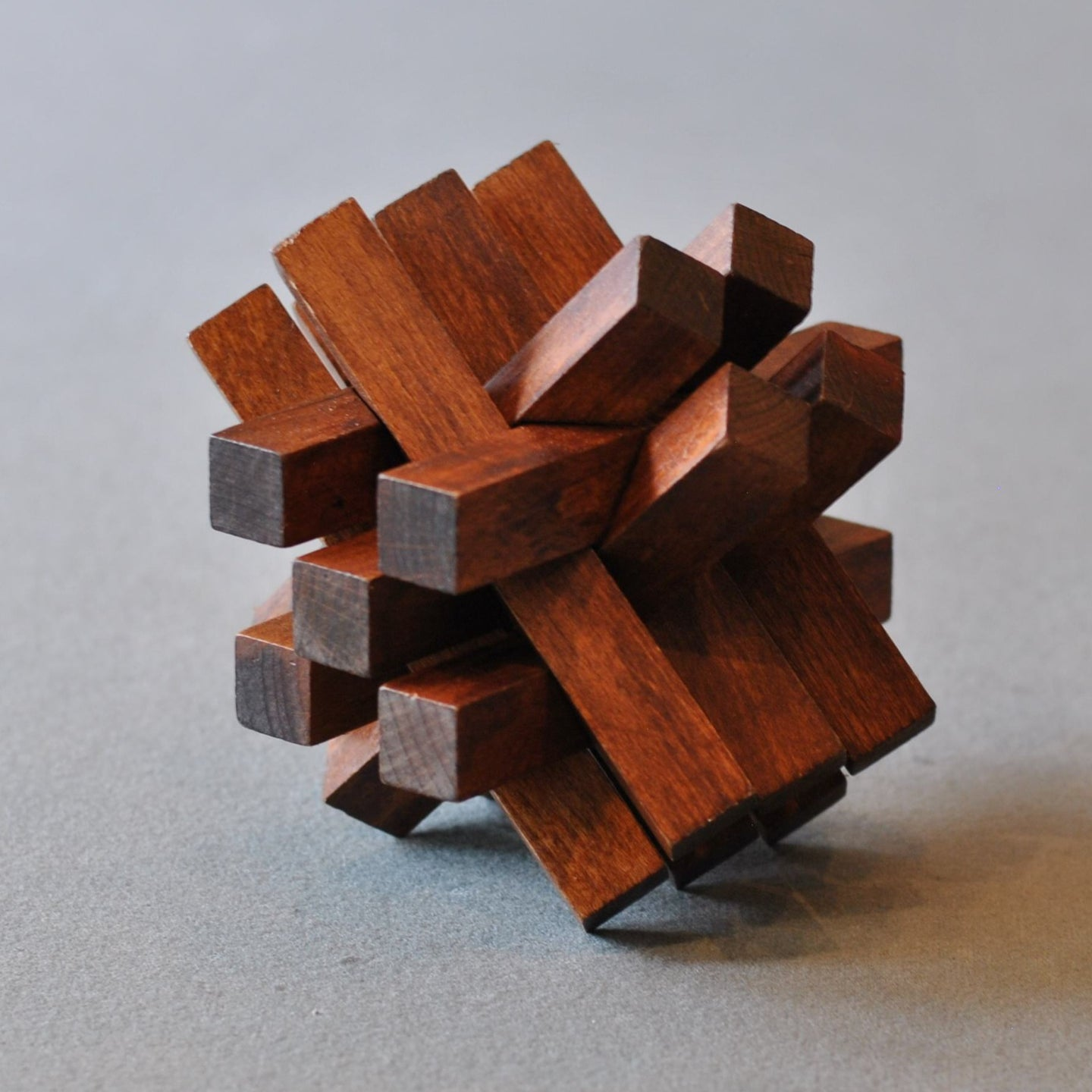 Chelsea Natural Wood Assembly Puzzle