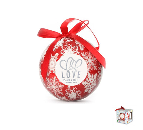 What Love Is All About Christmas Ball Ornament